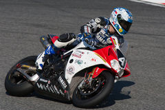 24Hours de Catalunya Motorcycling Images libres de droits