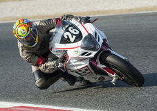24 HOURS ENDURANCE OF MOTORCYCLING OF BARCELONA Royalty Free Stock Photos