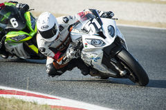 24 HOURS ENDURANCE OF MOTORCYCLING OF BARCELONA Royalty Free Stock Photography