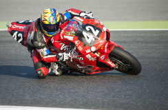 24 HOURS ENDURANCE OF MOTORCYCLING OF BARCELONA Stock Photos
