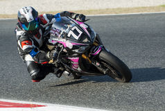 24 HOURS ENDURANCE OF MOTORCYCLING OF BARCELONA Stock Photo