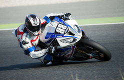 24 HOURS ENDURANCE OF MOTORCYCLING OF BARCELONA Stock Images