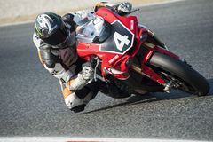 24 HOURS ENDURANCE OF MOTORCYCLING OF BARCELONA Royalty Free Stock Images