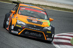 24 HOURS ENDURANCE RACE OF BARCELONA 2015 Royalty Free Stock Photography