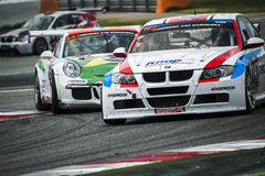 24 HOURS ENDURANCE RACE OF BARCELONA 2015 Stock Images