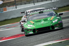 24 HOURS ENDURANCE RACE OF BARCELONA 2015 Royalty Free Stock Images