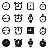 Hours an icon3 Royalty Free Stock Photo