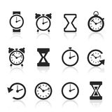 Hours an icon2. Set of icons hours. A vector illustration vector illustration
