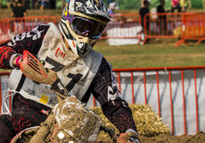 24 HOURS MOTOCROSS ENDURANCE RACE Royalty Free Stock Image