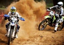 24 HOURS MOTOCROSS ENDURANCE RACE Royalty Free Stock Photography
