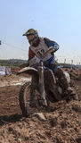24 hours of resistance motorcycles. Lliça D´Amunt Stock Photography