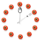 Hours of tomatoes Royalty Free Stock Photography