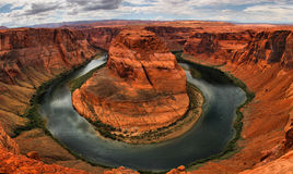 Hourseshoe. The famous horseshoe of the colorado river Royalty Free Stock Photos