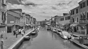 Hous dans le venecia Photos libres de droits