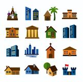 Hous icons Royalty Free Stock Image