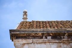 Hous kąt w starym miasteczku Dubrovnik Obrazy Stock