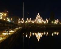 Housae del parlamento de la Columbia Británica Foto de archivo libre de regalías