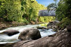 Housatonic Fluss Stockbild