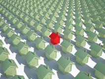 HouseÑ Grundbesitz unbewegliches 3d CG lizenzfreie abbildung