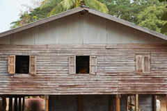House#2 монаха деревянное Стоковое Фото