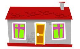 House 09. Isolated mini style grey houses Stock Image