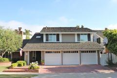 House 1. A home in Newport Beach, CA Royalty Free Stock Photography