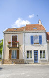 House. Great ancient house in france with color Stock Photos