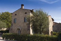House. Old house in a little village Stock Photos