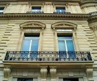 House. Windows and balcony Royalty Free Stock Photo