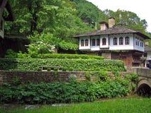House. Architectural museum Etara-Bulgaria ,Gabrovo Royalty Free Stock Photography
