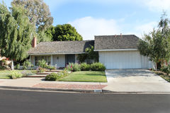 House 11. A house in Newport Beach, CA Royalty Free Stock Photos
