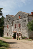 House. A typical little old village in the Istria, Croatia Royalty Free Stock Photography