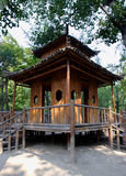 House. The house made by bamboo Royalty Free Stock Photography