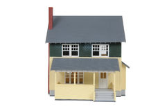 House. Toy house isolated over a white background with a clipping path Stock Image