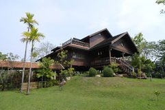 House. A photo of Thai homes in Thailand Stock Images