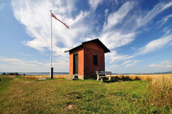 House. A small house that was used for pilot lookout boat Royalty Free Stock Photos