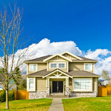 A House. Luxury house in Vancouver, Canada Stock Photo