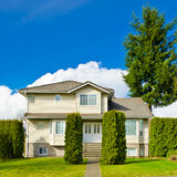 A House. Luxury house in Vancouver, Canada Stock Images