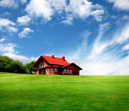 House. New House of classic style Royalty Free Stock Photography