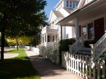 House. In new urbanism development of Prospect project in Longmont, Colorado Stock Image