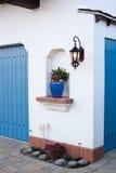 House. Renovated spanish villa in downtown Santa Barbara, California Royalty Free Stock Photography