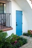 House. Renovated spanish villa in downtown Santa Barbara, California Stock Photography