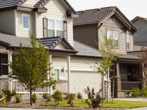 House. In suburban development of Denver, Colorado Royalty Free Stock Photo