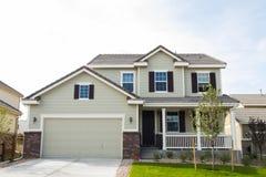 House. In suburban development of Denver, Colorado Stock Photo