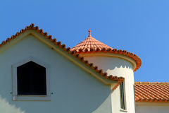 House. Roofs Stock Photo