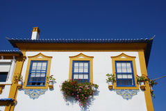 House. A nice coloured house in Aveiro (Portugal Royalty Free Stock Image