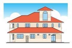 House. Design, vector, illustrator, modern style Stock Photo