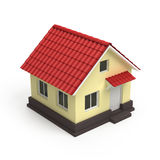 House 3d icon Royalty Free Stock Photo