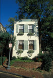 House. Nice house in Georgetown DC Royalty Free Stock Images