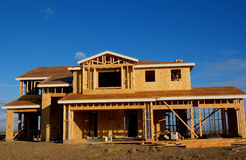 House. New house under construction Stock Photo